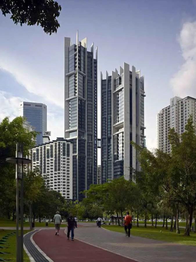 The Troika Kuala Lumpur Towers Malaysia Buildings E