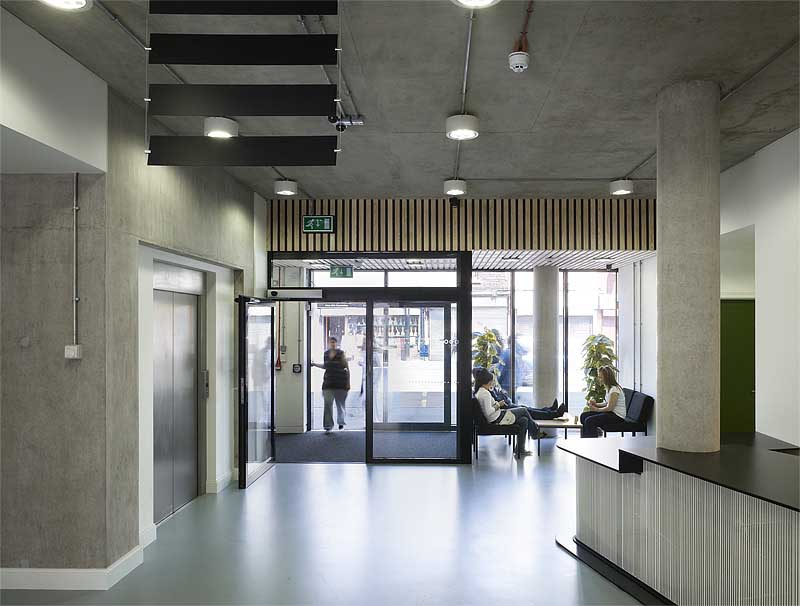 New Roundhouse Manchester Building E Architect