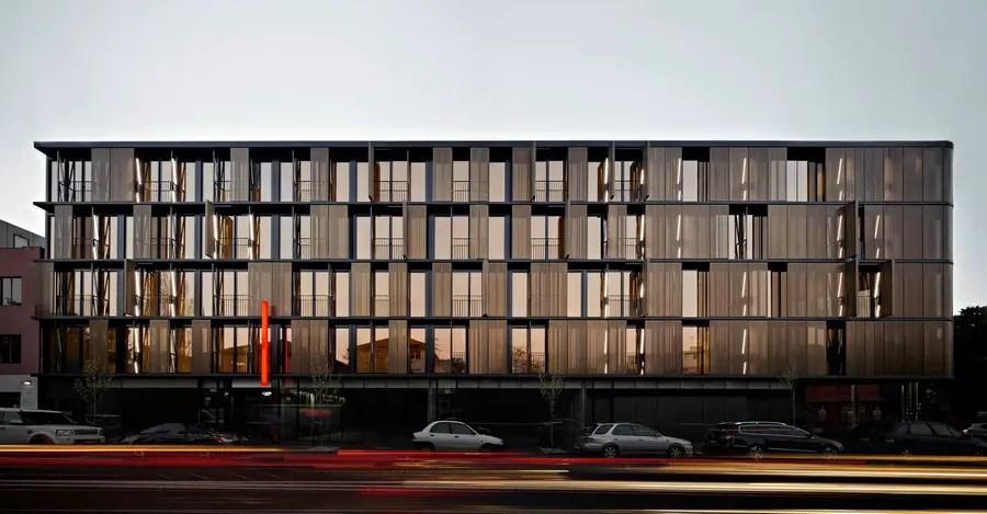 Luna Apartments Melbourne Housing E Architect