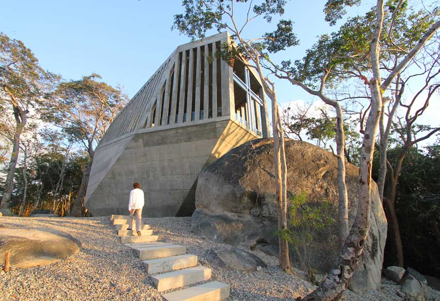 Sunset Chapel Acapulco Church Mexico E Architect