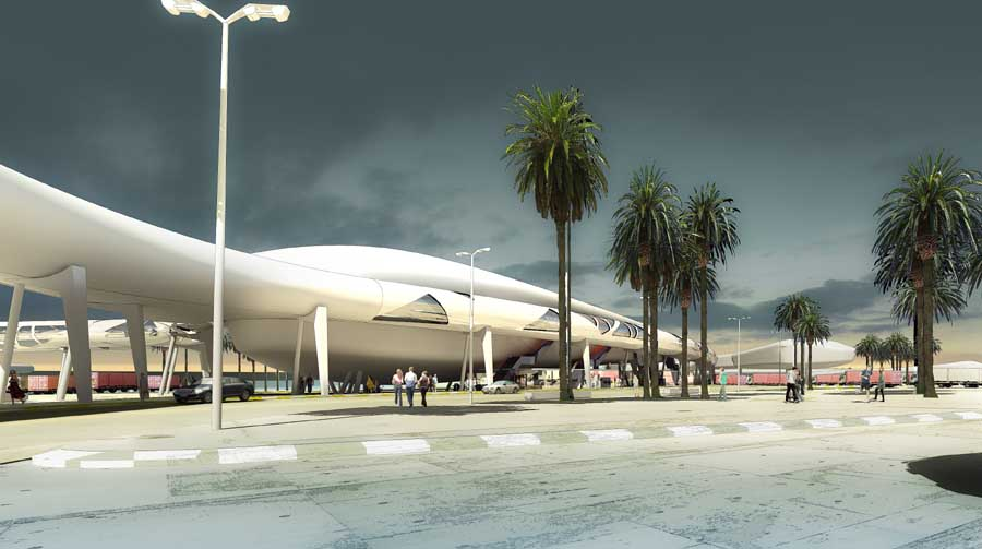 Tangier Passenger Terminal Morocco E Architect
