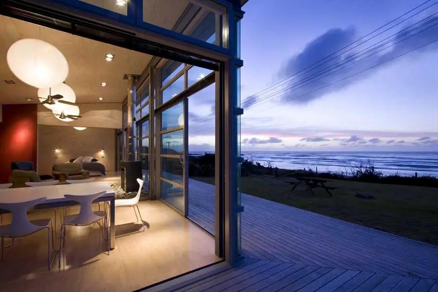 Waitara Bach New Zealand Beach Property Home E Architect