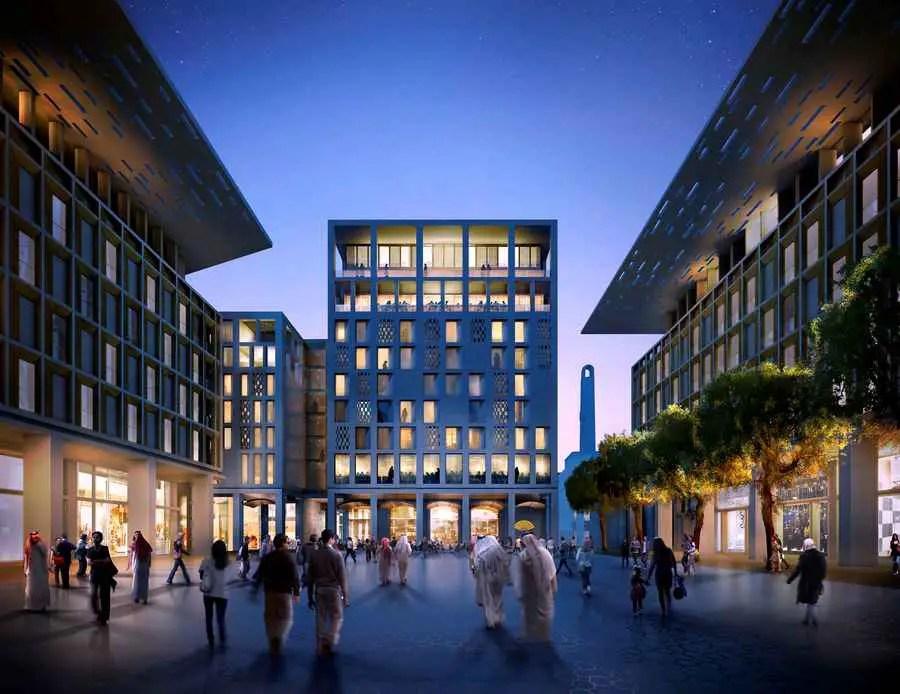 Musheireb Development Doha Qatar Dohaland Project E
