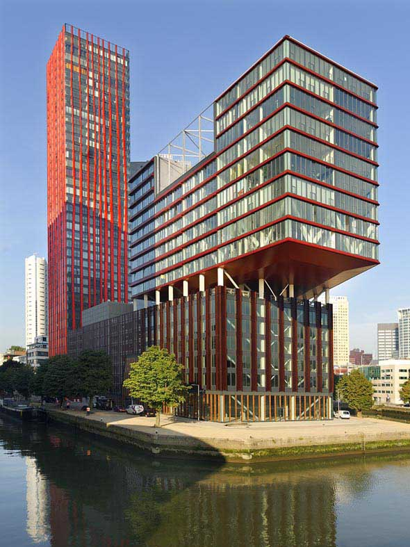 The Red Apple Rotterdam Wijnhaven Island Building E