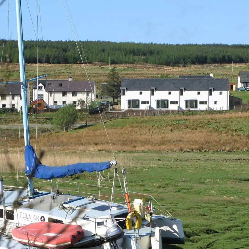 Skye Home Edinbane Houses Scotland E Architect
