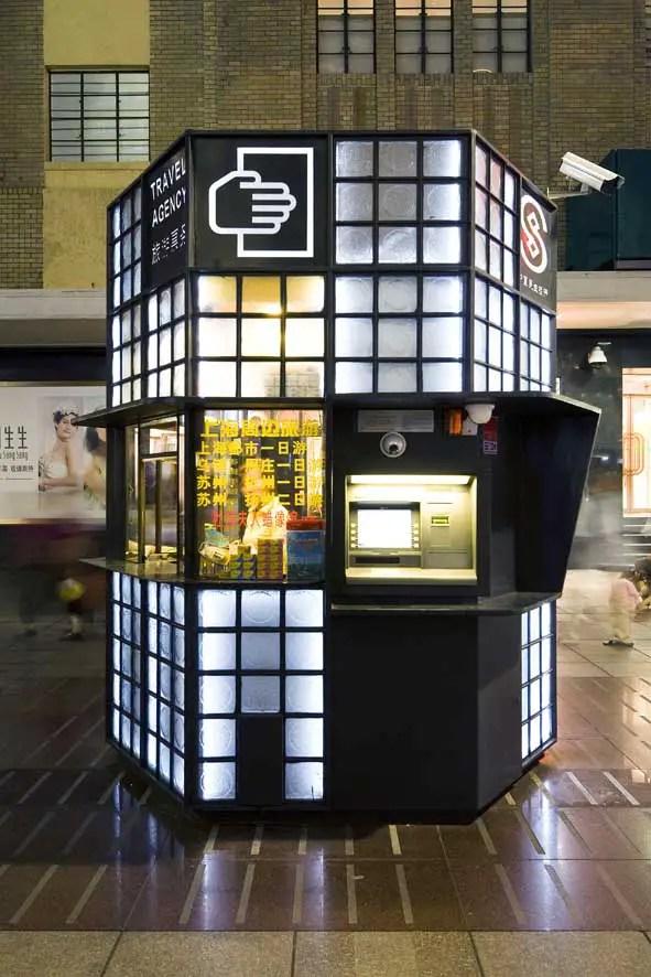 Shanghai Expo 2010 Pedestrian Kiosks E Architect