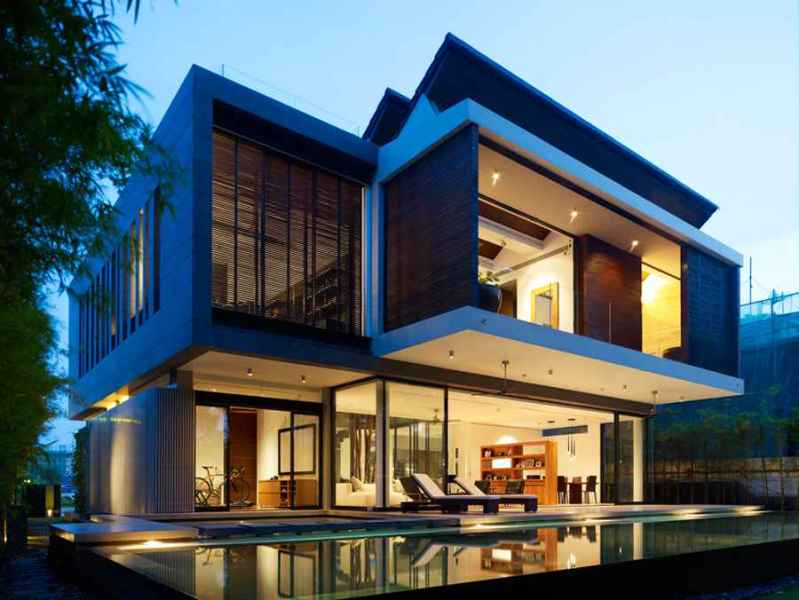New Home Designs   Residential Property   e architect Sentosa Cove Building
