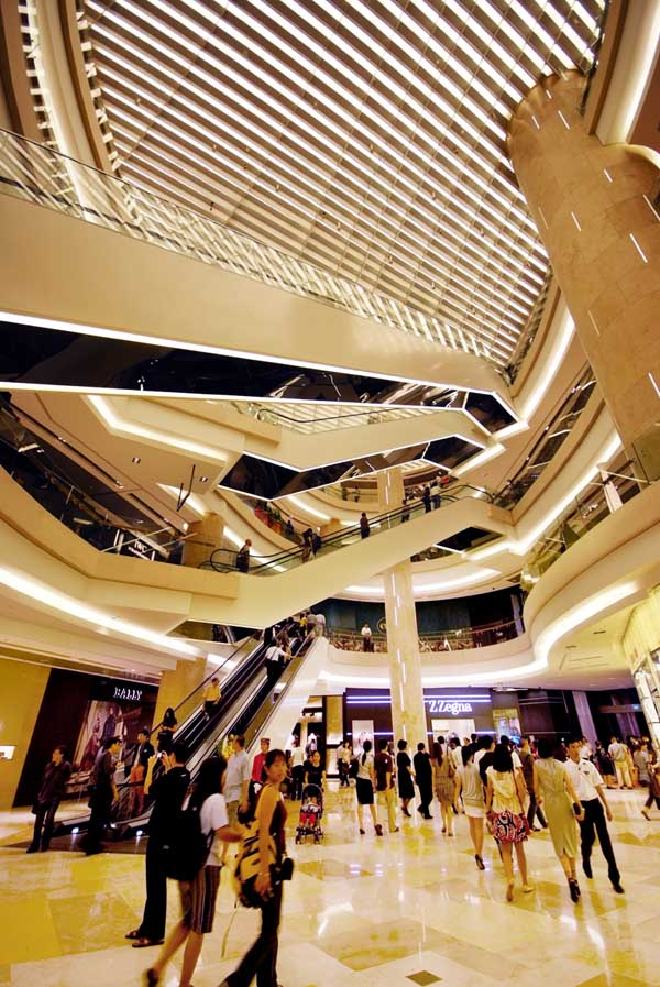 Ion Orchard Singapore Retail Mall E Architect