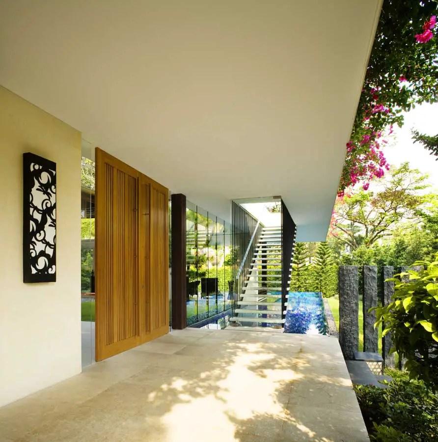 Tangga House Singapore Home By Guz Architects E Architect