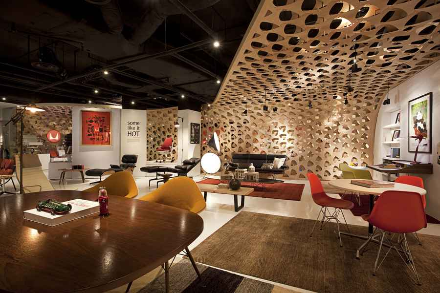 Xtra Herman Miller Shop Singapore Store E Architect