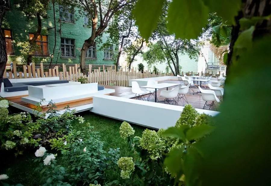 Kiev Garden Restaurant Ukraine E Architect