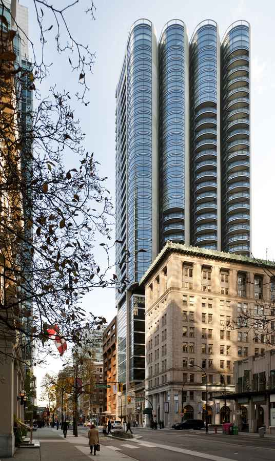 Jameson House - Vancouver Tower by Foster + Partners - e ...