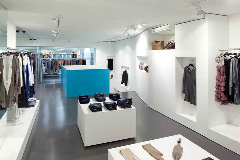 Inside Fashion Store Vienna Shop Design Austrian Retail