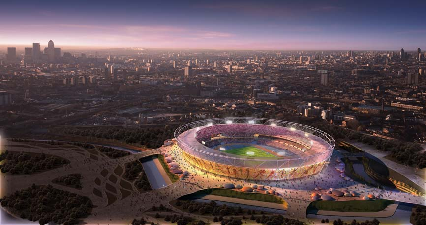 stadion stadium london, olah raga, logo olimpiade china london