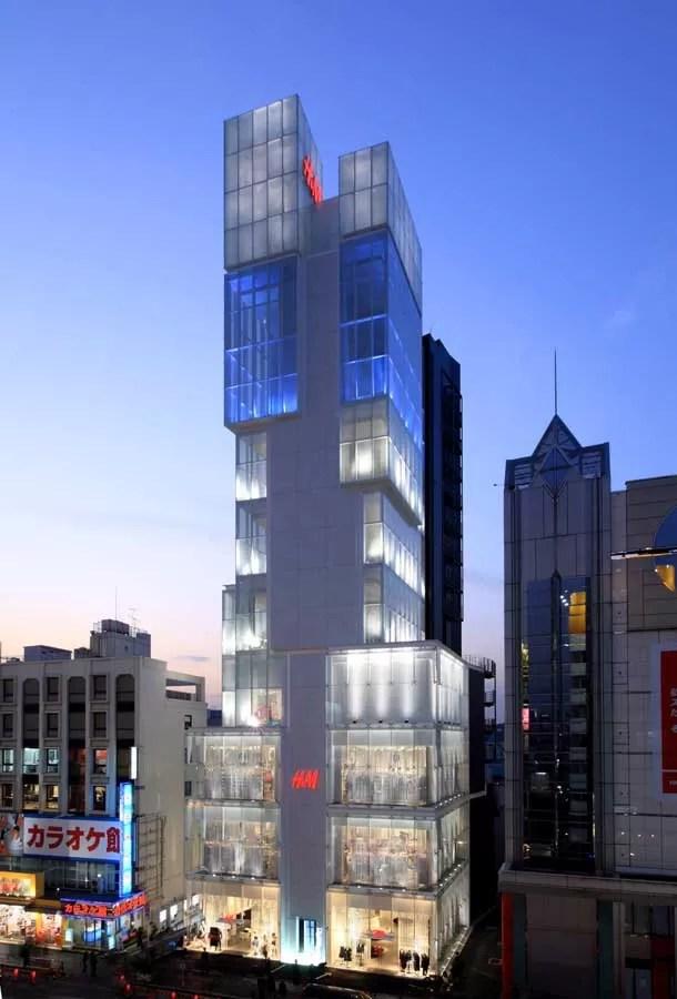 The Ice Cubes Tokyo Store Design Shibuya Ku Building