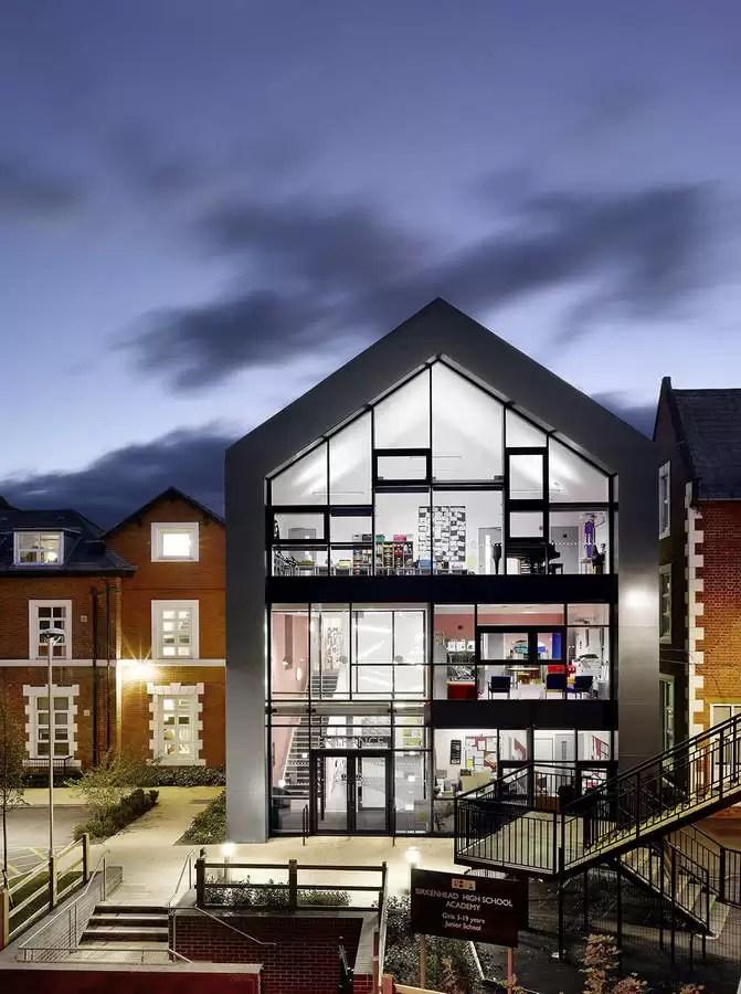 Birkenhead High School Academy Building E Architect