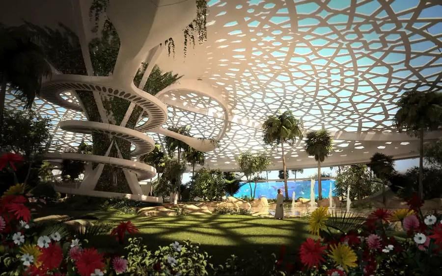 A Palace For Nature Qatar E Architect