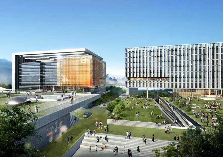 Ulju Government Complex In South Korea E Architect