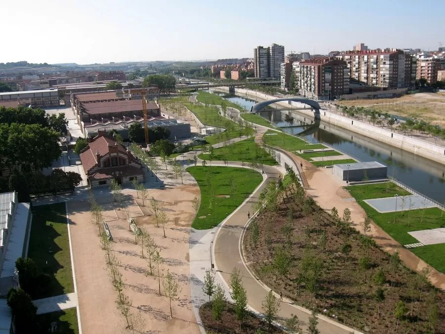 Madrid Rio Landscape Design E Architect