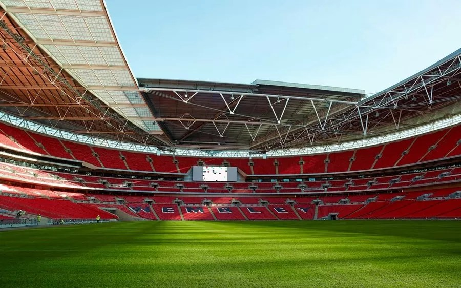 Wembley Stadium Football Ground London E Architect