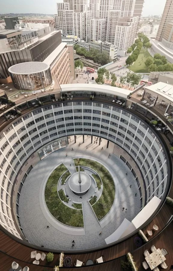 The Television Centre In White City E Architect