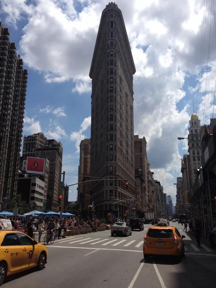 Flatiron Building New York Daniel Burnham Architect E
