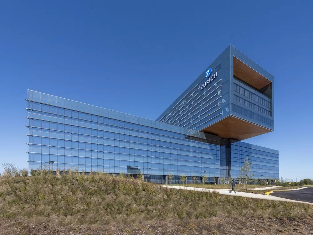 Zurich North America Headquarters In Schaumburg E Architect