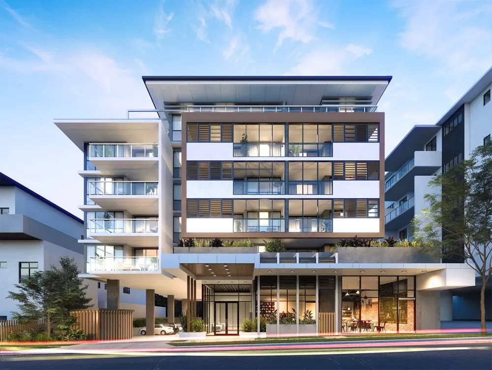 Felicity On Felix Apartment Building At Lutwyche E