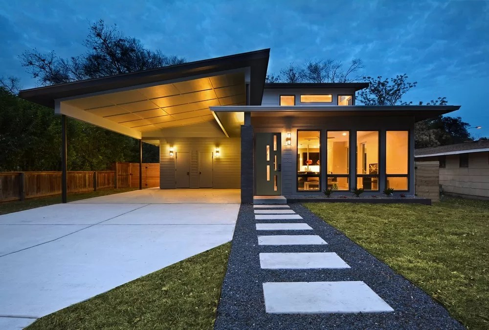 Threshold House In Austin E Architect
