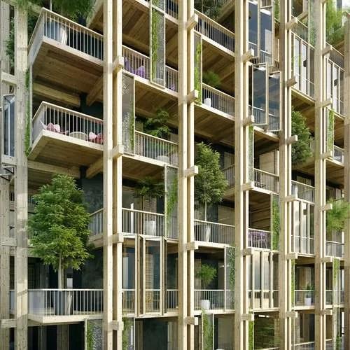 Paris High Rise Building Design 15 E Architect