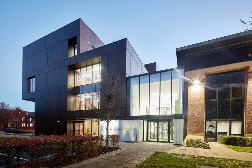 University Of Liverpool School Of Management Extension E