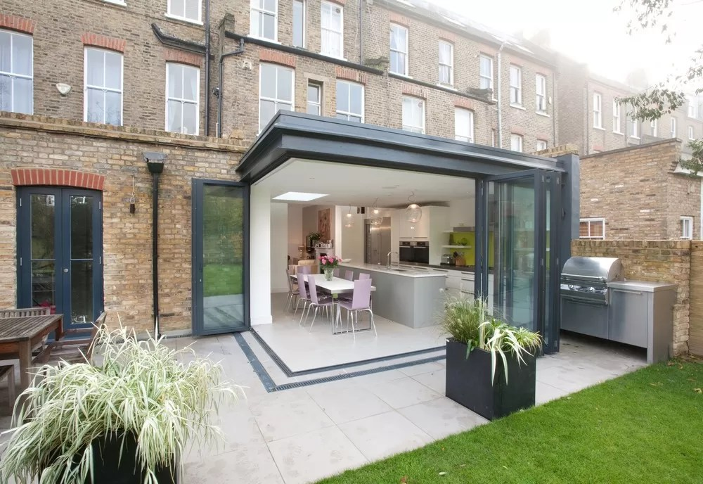 What Are the Best Patio Doors to Choose - e-architect on Backyard Patio Extension Ideas id=11223