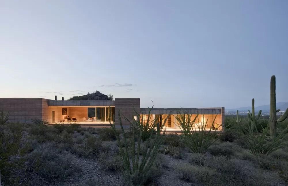 Tucson Mountain Retreat In Arizona E Architect