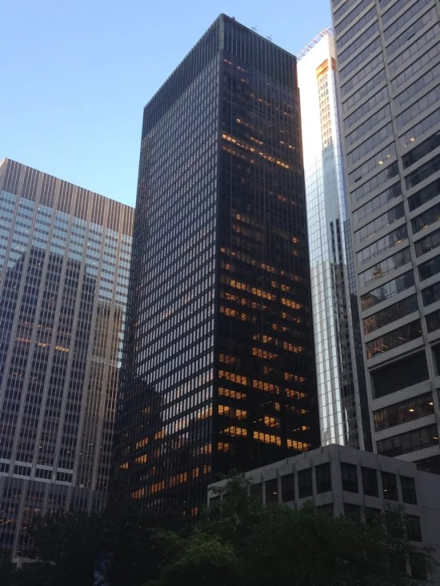Image result for Seagram Building, Manhattan, 1954-58