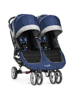 poussette baby jogger city mini double cobalt bleu