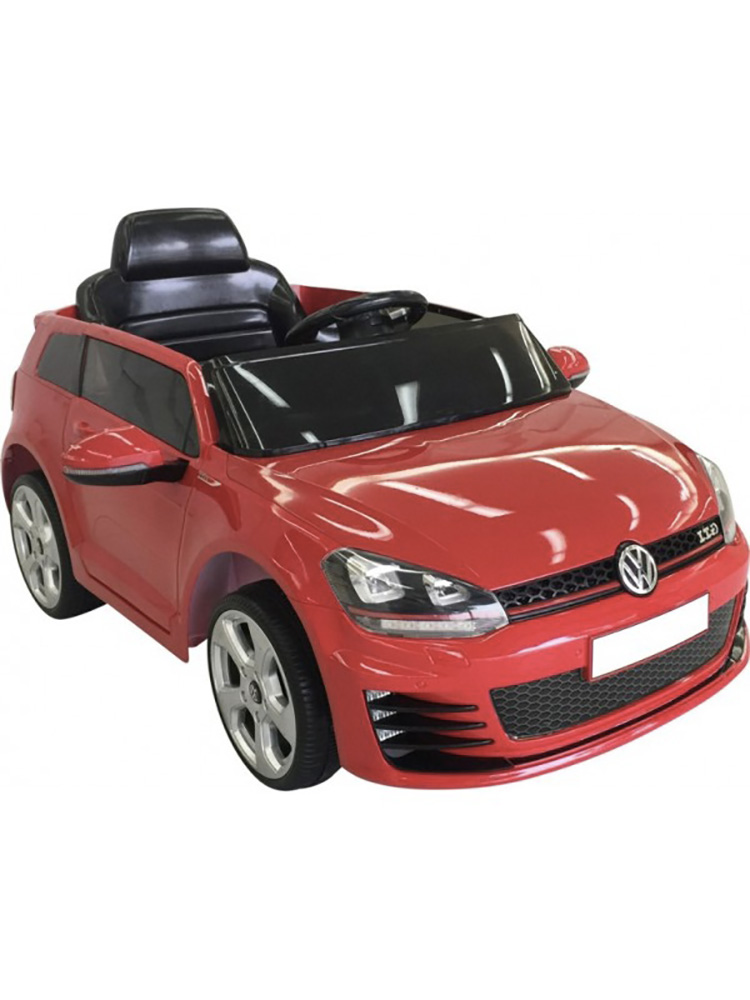 voiture lectrique 12v volkswagen golf gti rouge. Black Bedroom Furniture Sets. Home Design Ideas