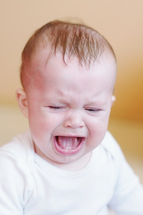 crying baby age of 7 month
