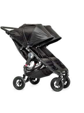 Poussette baby jogger city mini GT double assise côté