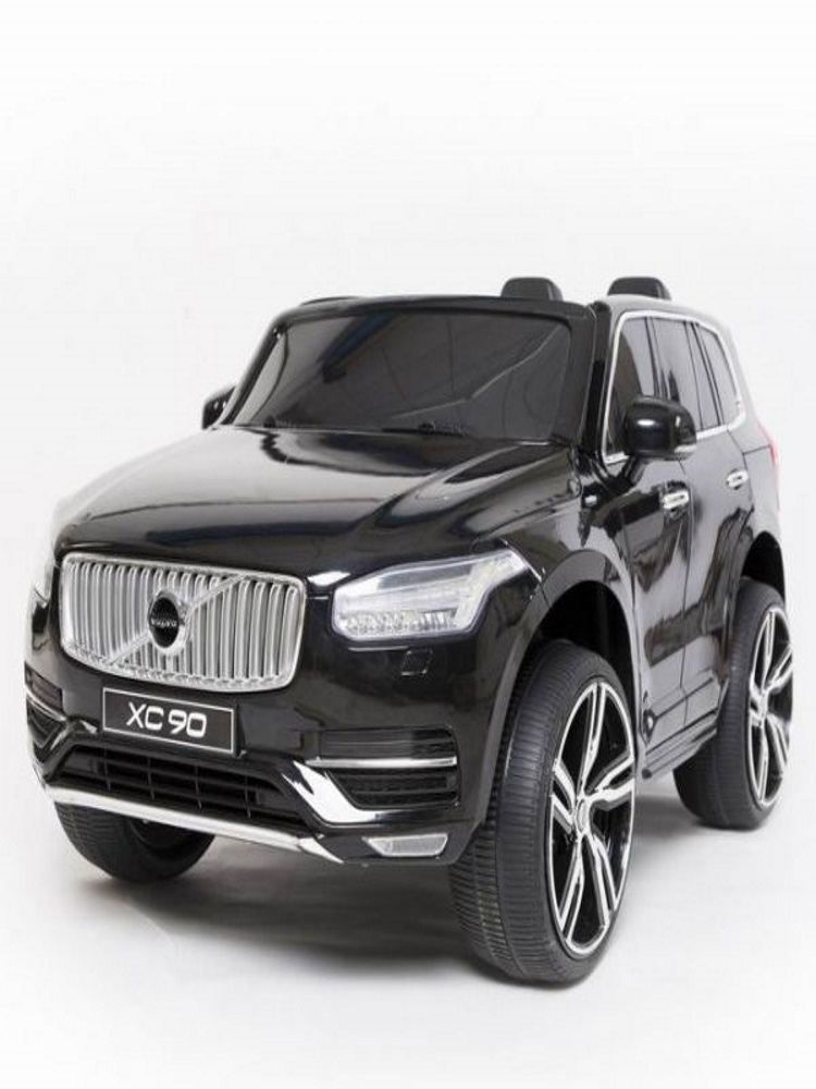 voiture lectrique 2 places 12v volvo xc90 noire pack luxe. Black Bedroom Furniture Sets. Home Design Ideas