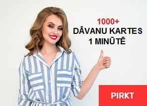 PIRKT DĀVANAS - DĀVANU KARTES