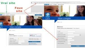 fraude faux sites