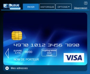 faire opposition e carte bleue banque postale