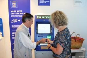 reclamation e carte bleue banque postale