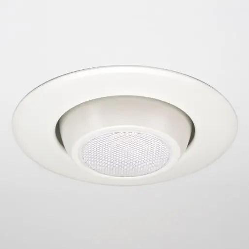 cree lighting pro series 6 inch gimbal downlight cr6t series 1600 lumens white