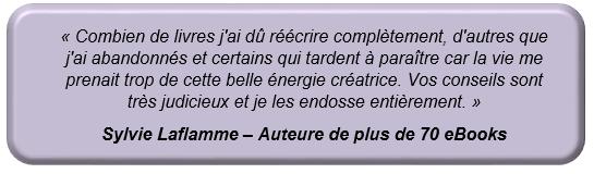 Témoignage de Sylvie Laflamme