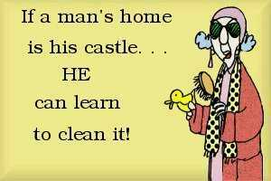 If a man's home is his castle..