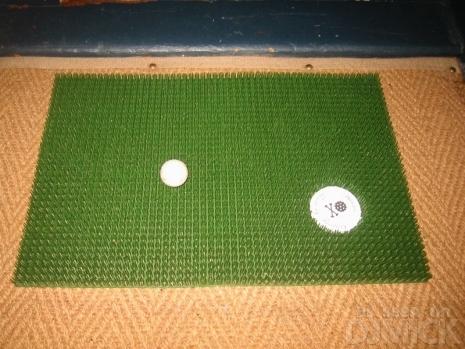 golf - doormat