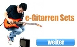 E-Gitarren Sets kaufen