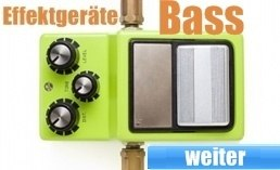 E-Bass Effektgeräte kaufen