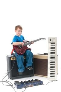 Musiker-Gitarrist